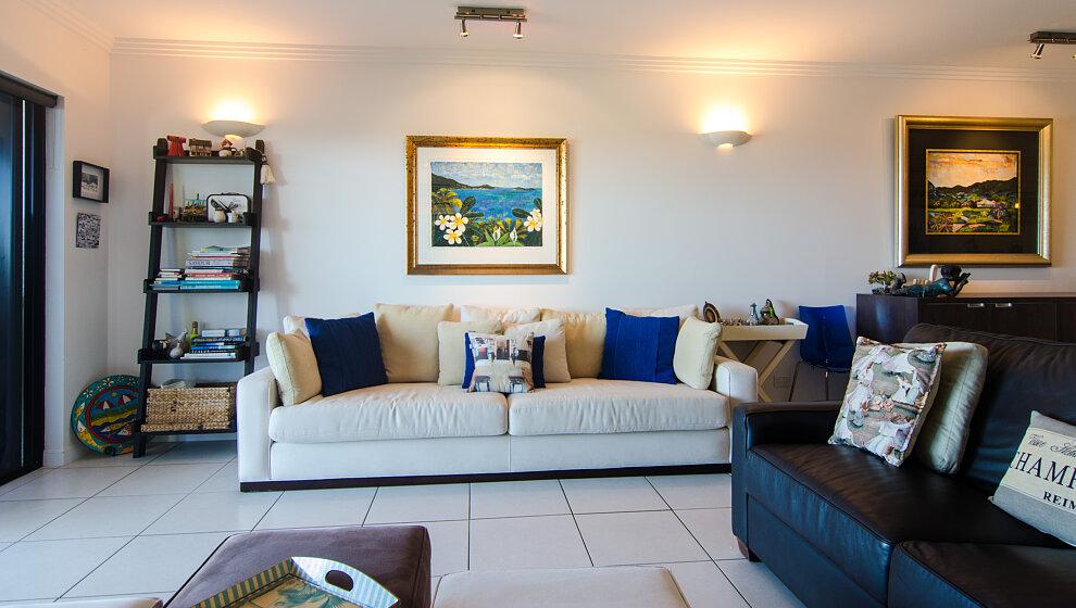 Trinity Beach Penthouse comfy sofas