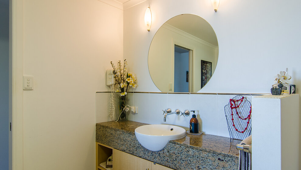 Trinity Beach Penthouse ensuite basin