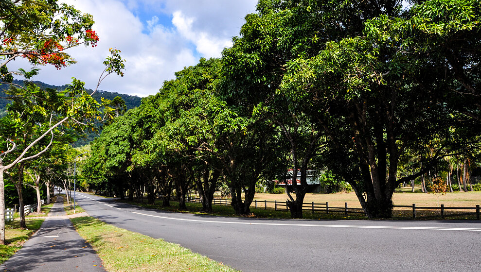 Mary Parker Drive - Zanzoo driveway 50m on right