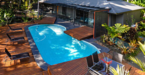 Pool House from Lodge verandah