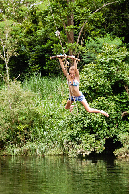 Mulgrave River rope swing