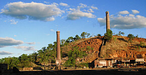 Chillagoe smelter chimney stacks