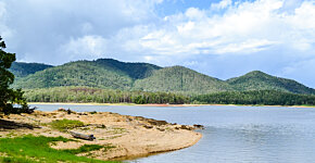 Lake Tinaroo from Tinaroo Falls