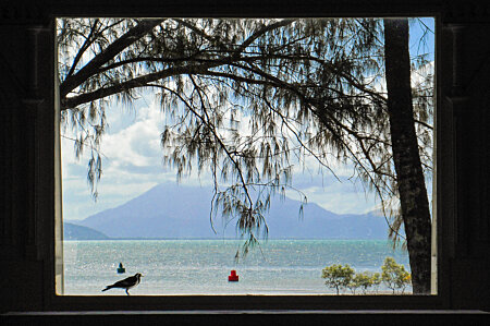 View of Thornton Peak from St Marys by the sea, Port Douglas
