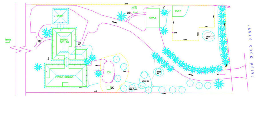 Shanee Prana - Property plan