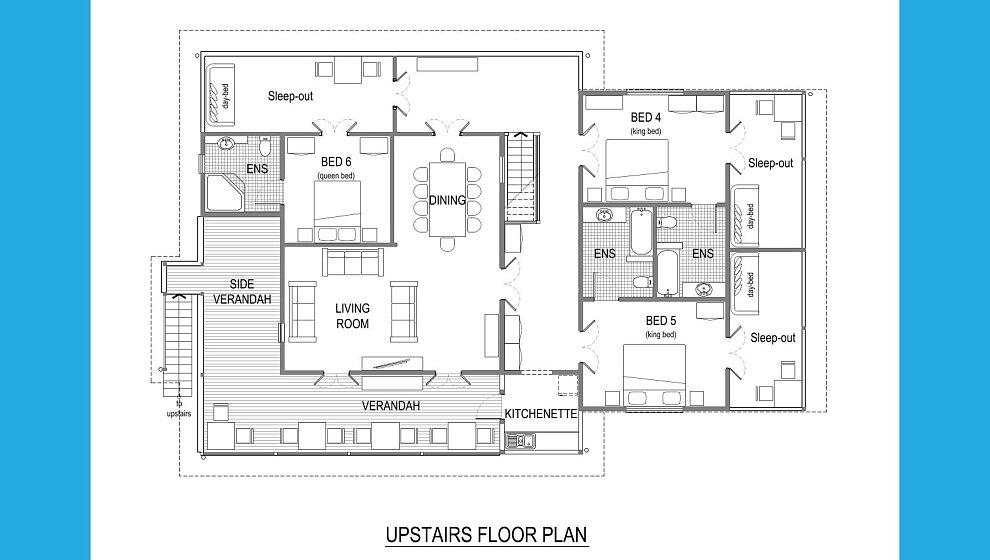 Zanzoo upstairs floorplan
