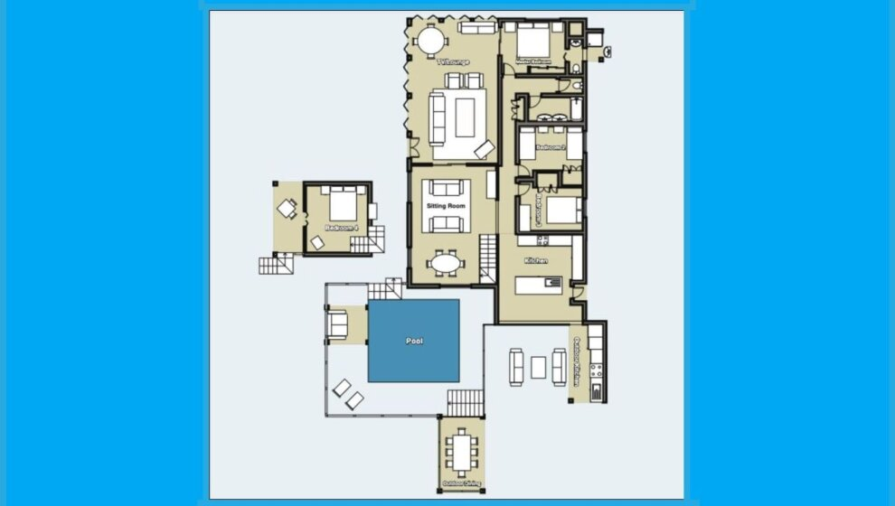 A Touch of Bali floorplan