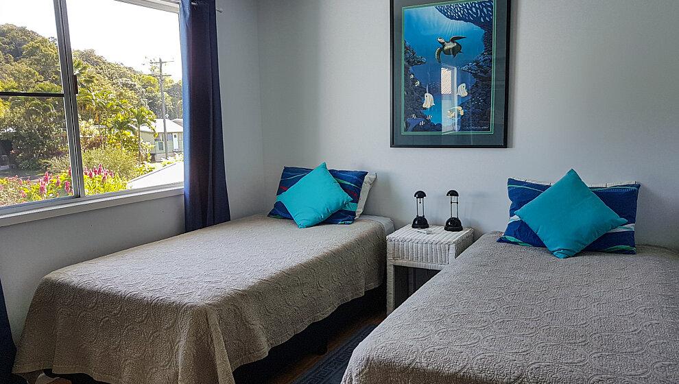 The Beachie - twin single bedroom