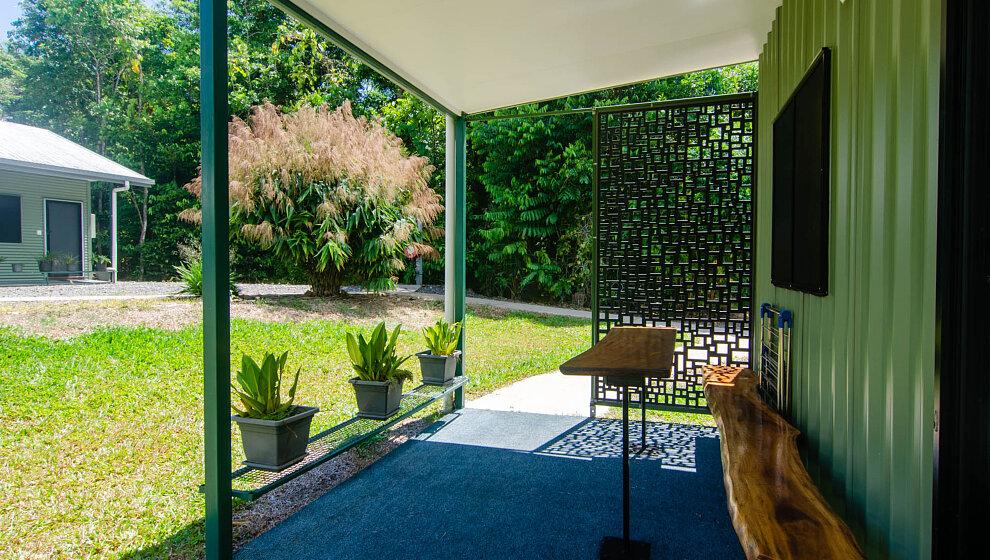 Cabin 3 patio