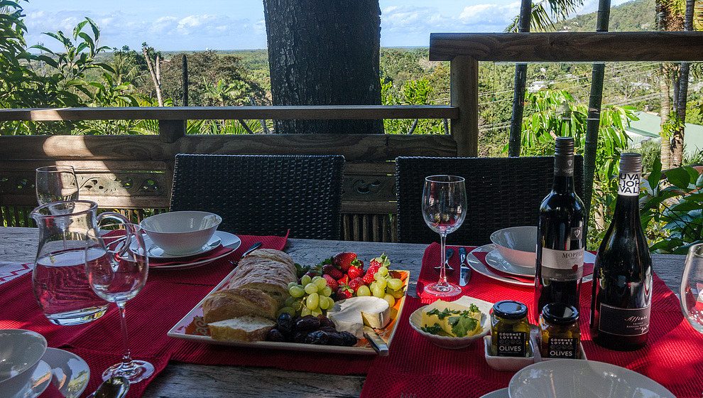 Touch of Bali - Lunch with a view