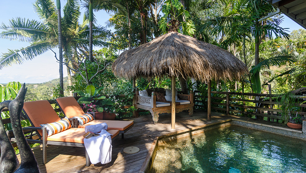 Touch of Bali - Poolside
