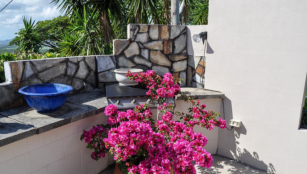 A Villa Gail - Top terrace BBQ