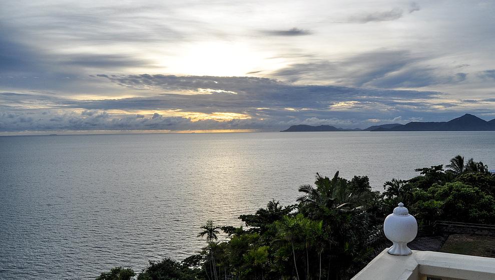 Avillagail - Evening view from Gail's terrace