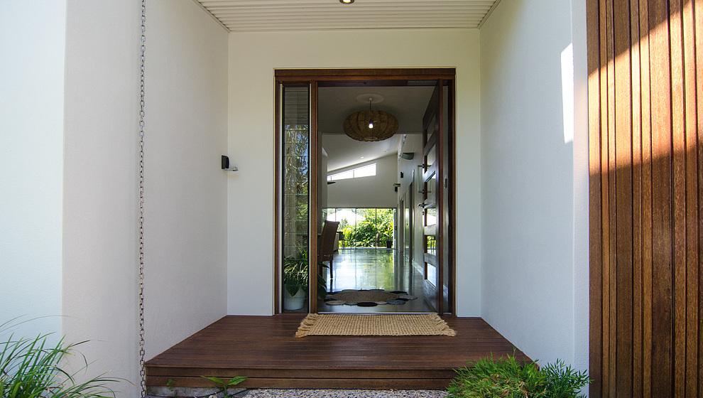 Bambusa front door