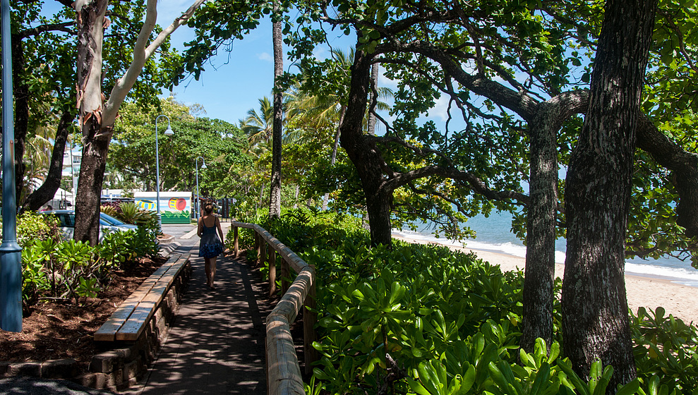 Connemara Shady Trinity Beach esplanade