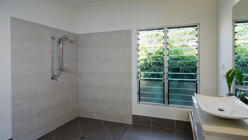 Bambusa wheelchair friendly bathroom