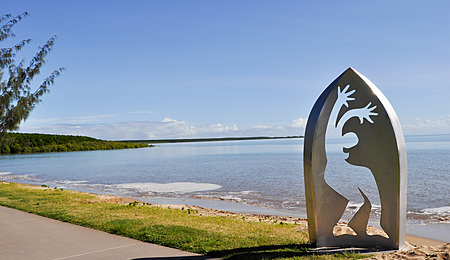 Sculpture -north end of the Cairns Esplanade