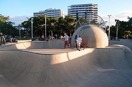 Cairns Esplanade skating bowl